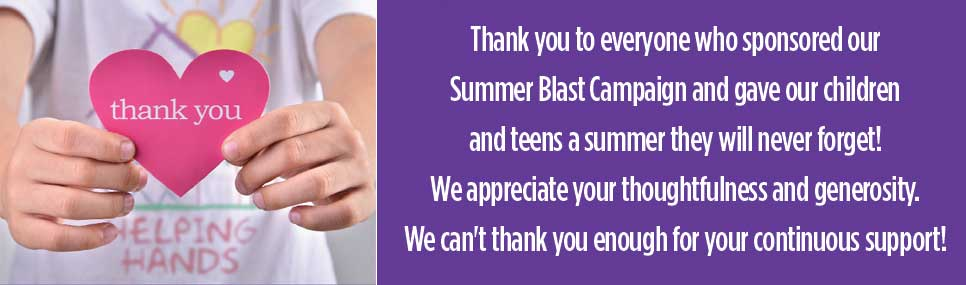 Summer blast thank you