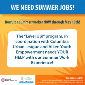 Summer Jobs AYE Program