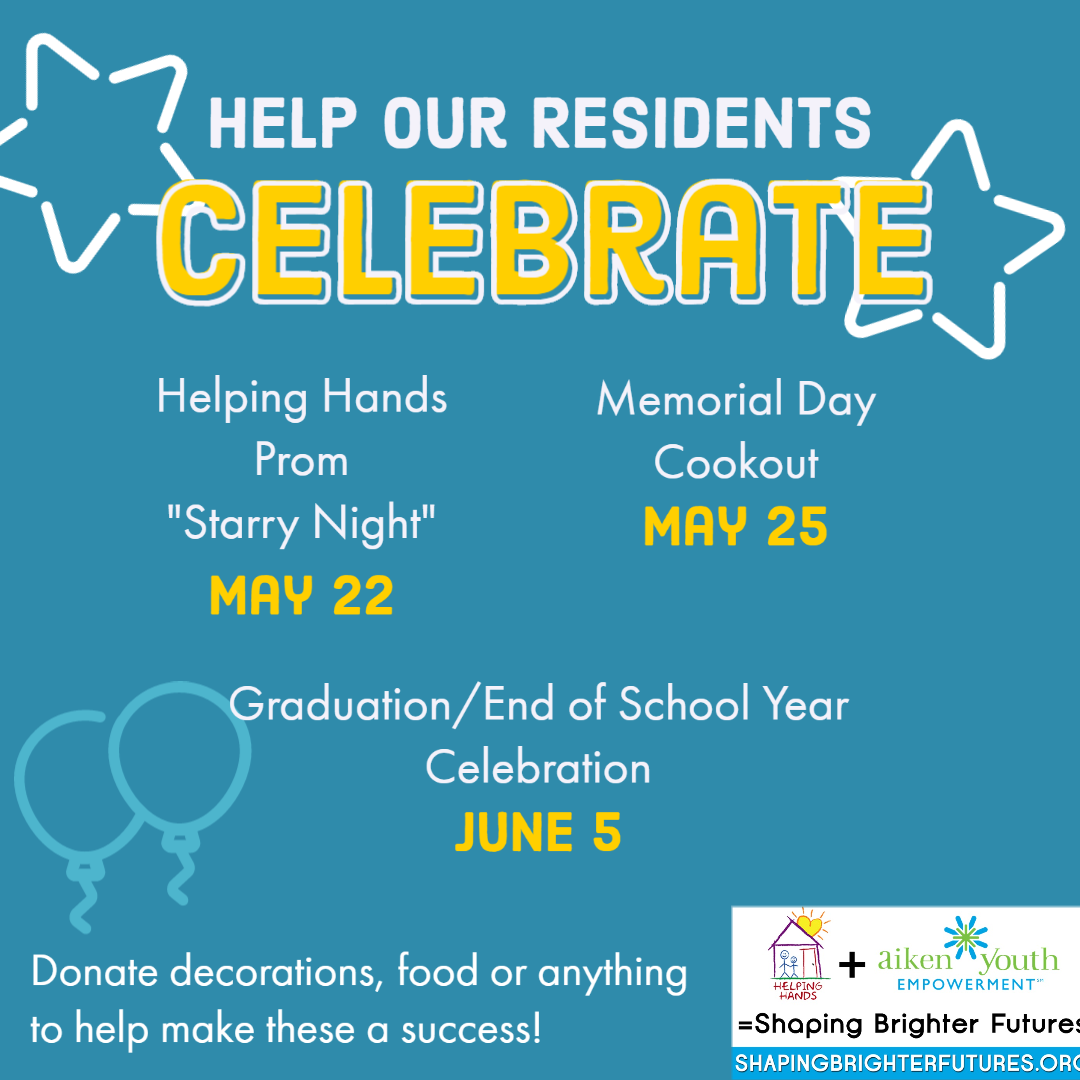 Help our residents celebrate